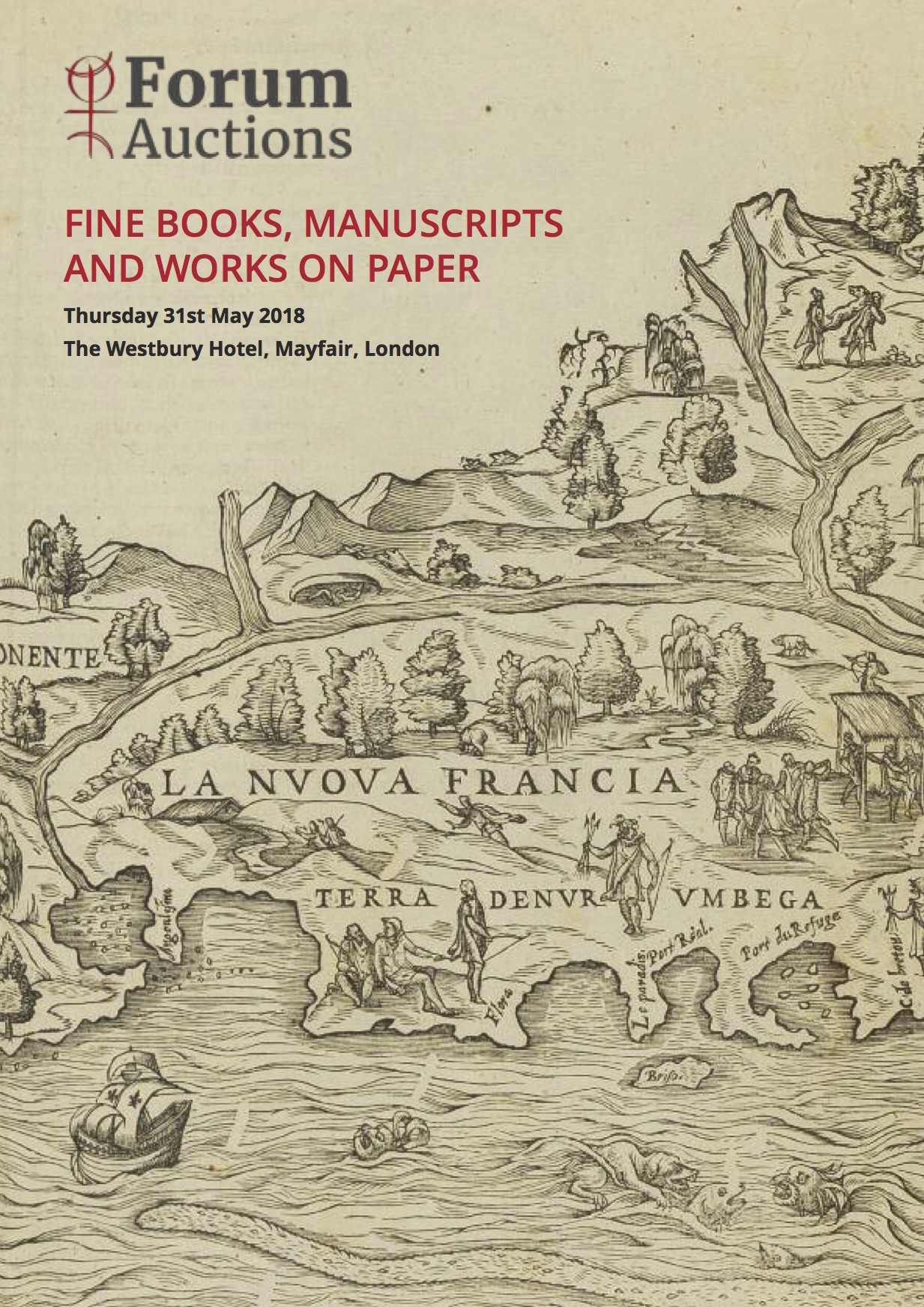 Fine Books, Manuscripts and Works on Paper