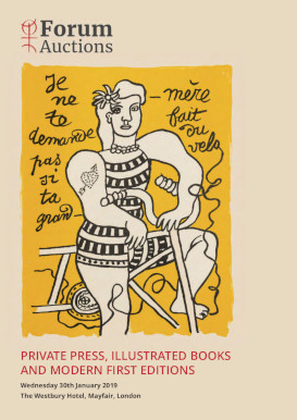 Private Press, Illustrated Books and Modern First Editions